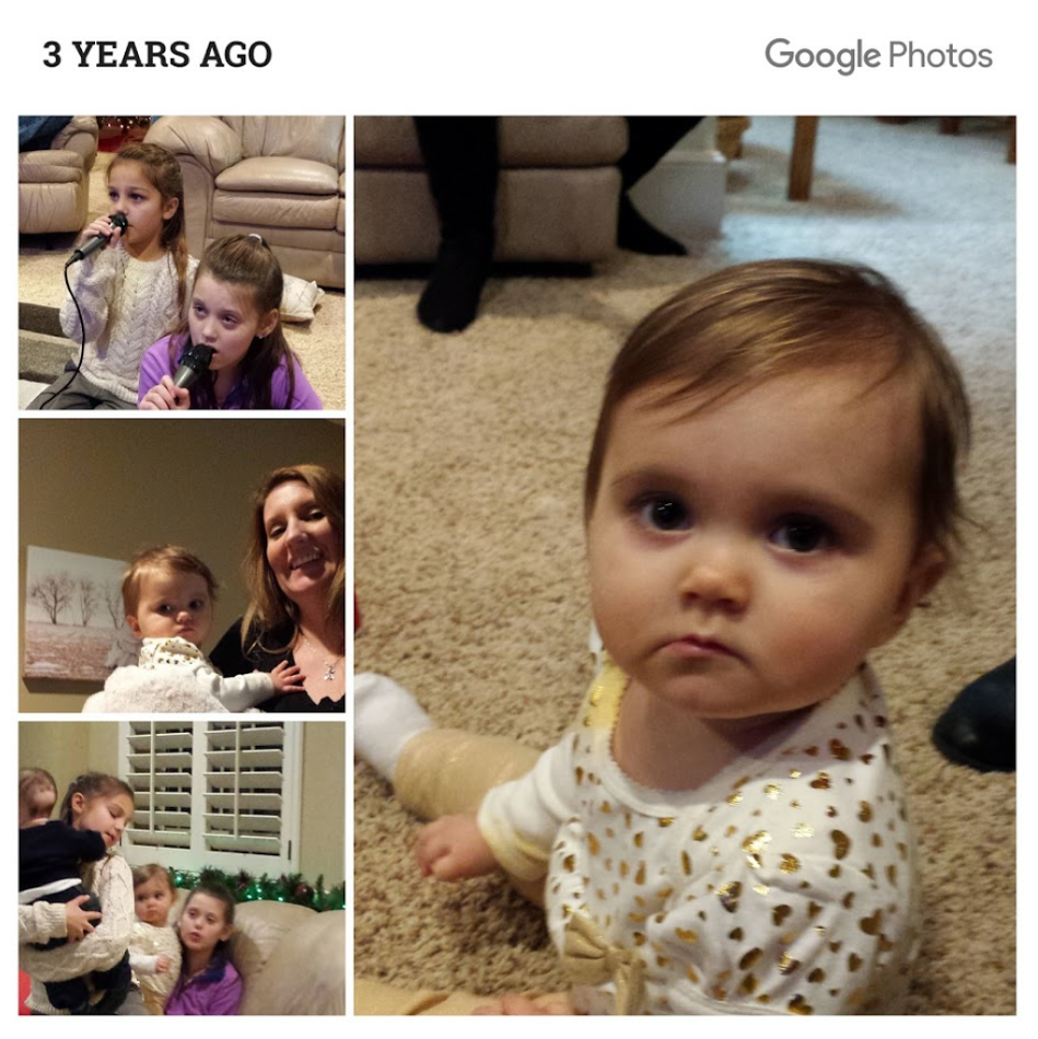 new years 2015 Jaelyn 1 year old Aubrey Owen